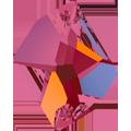 Swarovski 3265# - 26X21mm Crystal, VOLC, F, 20pcs, (19-2) Foiled