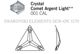 Swarovski 3270# - 16mm Crystal, CAL, F, 72pcs, (32-9) Foiled