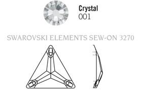 Swarovski 3270# - 16mm Crystal, VOLC, F, 72pcs, (19-3) Foiled