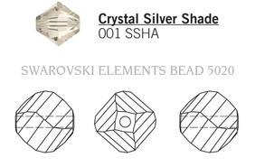 Swarovski 5020# - 10mm Crystal, SSHA, 144pcs, (11-4)