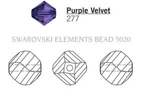 Swarovski 5020# - 10mm Purple Velvet, 144pcs, (11-4)