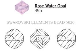 Swarovski 5020# - 6mm Rose Water Opal, 360pcs, (11-1)