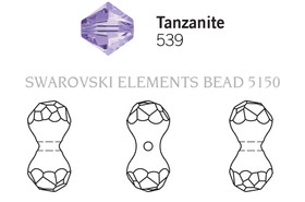 Swarovski 5150# - 11X6mm Tanzanite, 216pcs, (23-2)
