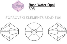 Swarovski 5301# - 3mm Rose Water Opal, 1440pcs, (13-1)