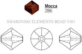 Swarovski 5301# - 4mm Mocca, 1440pcs, (16-6)