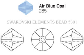 Swarovski 5301# - 5mm Air Blue Opal, 720pcs, (15-5)