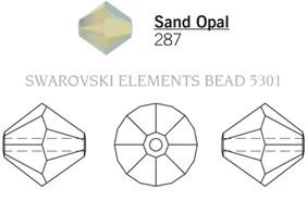 Swarovski 5301# - 5mm Sand Opal, 720pcs, (15-7)