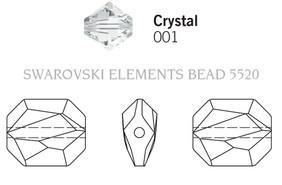 Swarovski 5520# - 10mm Crystal, 288pcs, (18-4)