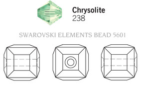 Swarovski 5601# - 4mm Chrysolite, 288pcs, (10-4)