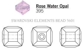 Swarovski 5601# - 4mm Rose Water Opal, 288pcs, (9-2)