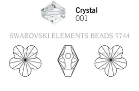 Swarovski 5744# - 5mm Crystal, 720pcs, (17-6)