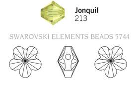 Swarovski 5744# - 8mm Jonquil, 288pcs, (17-5)