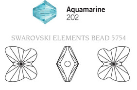 Swarovski 5754# - 5mm Aquamarine, 720pcs, (17-4)