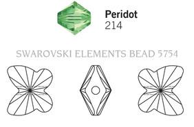 Swarovski 5754# - 5mm Peridot, 720pcs, (17-4)