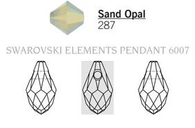 Swarovski 6007# - 7X4mm Sand Opal, 360pcs, (17-2)
