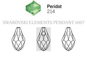 Swarovski 6007# - 9X5mm Peridot, 288pcs, (17-2)
