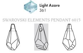 Swarovski 6015# - 13mm Light, 144pcs, (6-6)