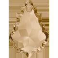 Swarovski 6091# - 28mm Crystal, GSHA, 40pcs, (12-5)