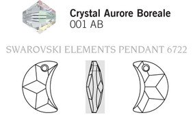 Swarovski 6722# - 14mm Crystal, AB, 144pcs, (2-9)