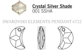 Swarovski 6722# - 20mm Crystal, SSHA, 48pcs, (6-10)