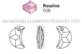 Swarovski 6722# - 20mm Rosaline, 48pcs, (5-11)