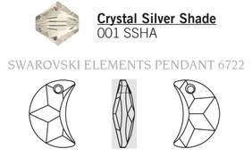 Swarovski 6722# - 30mm Crystal, SSHA, 20pcs, (2-10)