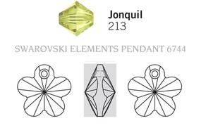 Swarovski 6744# - 14mm Jonquil, 144pcs, (1-8)