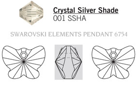 Swarovski 6754# - 18mm Crystal, SSHA, 72pcs, (1-10)