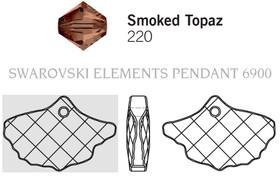 Swarovski 6900# - 13.5x20mm Smoked Topaz, 72pcs, (1-6)