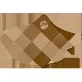 Swarovski 6900# - 3X4.5mm Crystal, GSHA, 6pcs, (3-7)