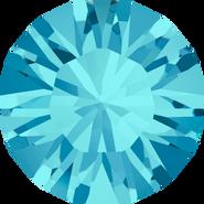 Swarovski Round Stone 1028 - pp6, Aquamarine (202) Foiled, 1440pcs