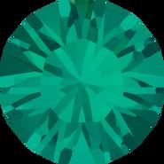 Swarovski Round Stone 1028 - pp8, Emerald (205) Foiled, 1440pcs