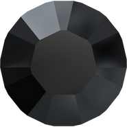 Swarovski Round Stone 1028 - pp8, Jet (280) Unfoiled, 1440pcs