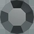 Swarovski Round Stone 1100 - pp1, Jet Hematite (280 HEM) Foiled, 1440pcs