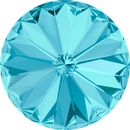 Swarovski Round Stone 1122 - 12mm, Aquamarine (202) Foiled, 144pcs
