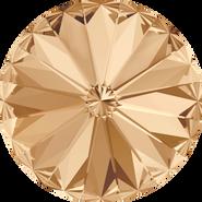 Swarovski Round Stone 1122 - 18mm, Crystal Golden Shadow (001 GSHA) Foiled, 72pcs