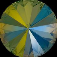 Swarovski Round Stone 1122 - ss47, Crystal Iridescent Green (001 IRIG) Foiled, 288pcs