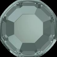 Swarovski Flatback 2000 - ss3, Black Diamond (215) Foiled, No Hotfix, 1440pcs