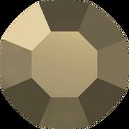 Swarovski Flatback 2000 - ss3, Crystal Metallic Light Gold (001 MLGLD) Foiled, No Hotfix, 1440pcs