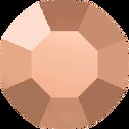 Swarovski Flatback 2000 - ss3, Crystal Rose Gold (001 ROGL) Foiled, No Hotfix, 1440pcs