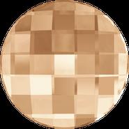 Swarovski Flatback 2035 - 14mm, Crystal Golden Shadow (001 GSHA) Foiled, No Hotfix, 96pcs