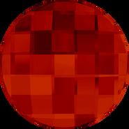 Swarovski Flatback 2035 - 14mm, Crystal Red Magma (001 REDM) Foiled, No Hotfix, 96pcs
