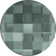 Swarovski Flatback 2035 - 20mm, Black Diamond (215) Foiled, No Hotfix, 40pcs