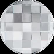 Swarovski Flatback 2035 - 6mm, Crystal (001) Foiled, No Hotfix, 360pcs