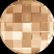 Swarovski Flatback 2035 - 6mm, Crystal Golden Shadow (001 GSHA) Foiled, No Hotfix, 360pcs