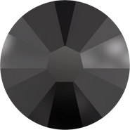 Swarovski Flatback 2058 - ss10, Jet (280) Foiled, No Hotfix, 1440pcs