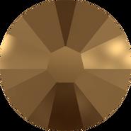 Swarovski Flatback 2058 - ss5, Crystal Dorado (001 DOR) Foiled, No Hotfix, 1440pcs