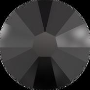 Swarovski Flatback 2058 - ss8, Jet (280) Foiled, No Hotfix, 1440pcs