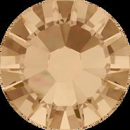 Swarovski Flatback 2058 - ss9, Crystal Golden Shadow (001 GSHA) Foiled, No Hotfix, 1440pcs