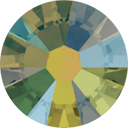 Swarovski Flatback 2058 - ss9, Crystal Iridescent Green (001 IRIG) Foiled, No Hotfix, 1440pcs